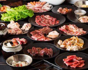 焼肉食べ放題 カルビ市場 天神店の食べ飲み放題コース